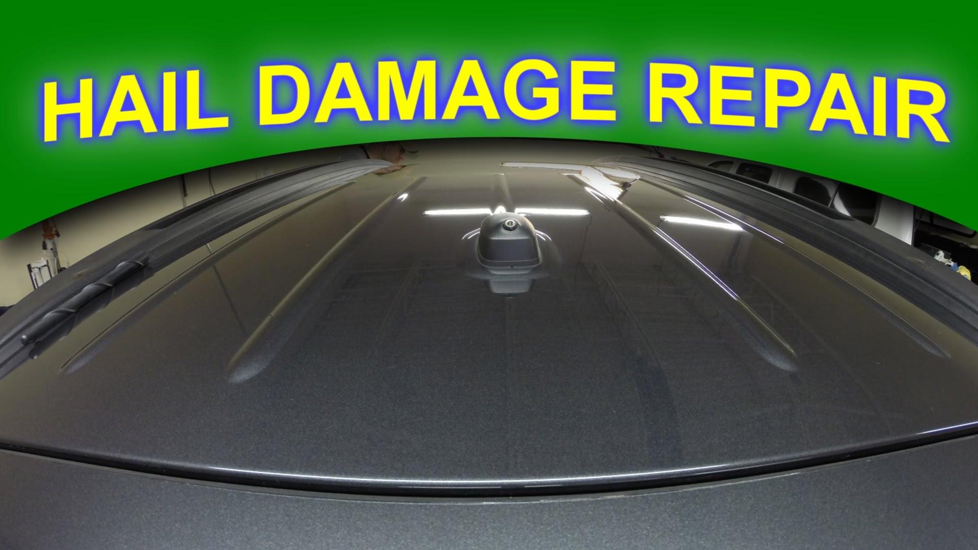 Fix Hail Damage on a Car
